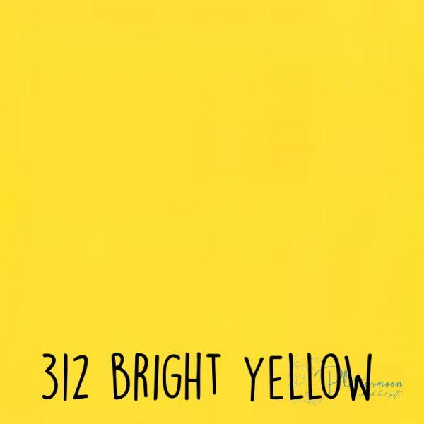 Ritrama vinyl mat 312 Bright yellow