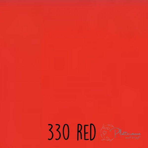 Ritrama vinyl mat 330 Red