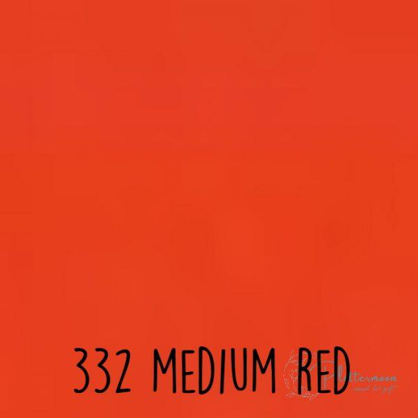 Ritrama vinyl mat 332 Medium red