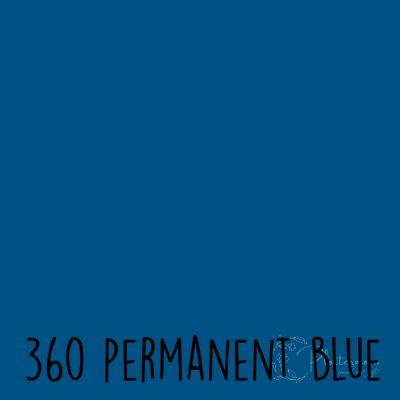 Ritrama vinyl mat 360 Permanent blue