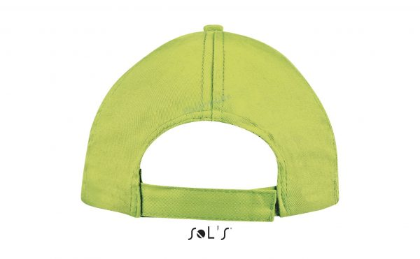 sol's buzz cap pet blanco apple green achterkant