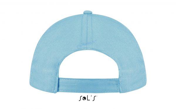 sol's buzz cap pet blanco atoll blue achterkant