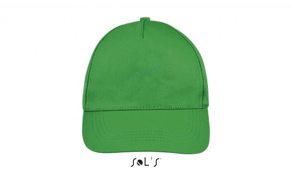 sol's buzz cap pet blanco kelly green voorkant