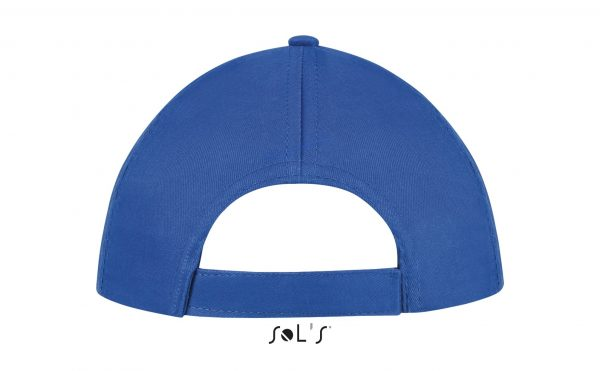 sol's buzz cap pet blanco royal blue zijkant