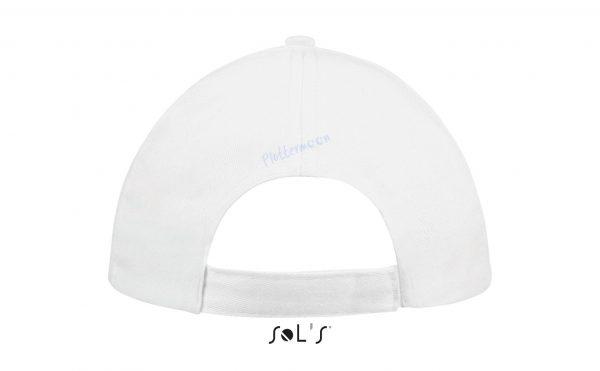 sol's buzz cap pet blanco wit achterkant