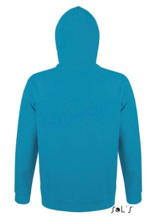 sol's snake hoodie trui met capuchon man heren achterkant aqua