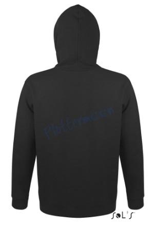 sol's snake hoodie trui met capuchon man heren achterkant black