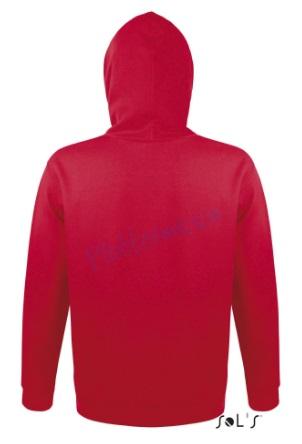 sol's snake hoodie trui met capuchon man heren achterkant red
