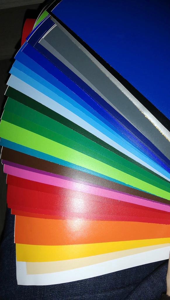 Regenboogpakket mat vinyl