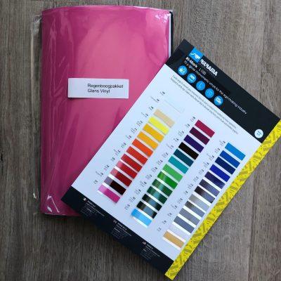 Regenboogpakket glans vinyl