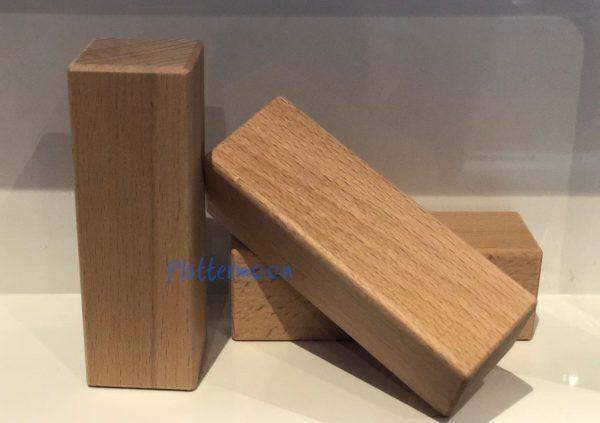 Houten blokken 9 x 3 x 3cm