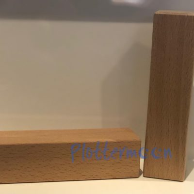 Houten blokken 12 x 3 x 3cm
