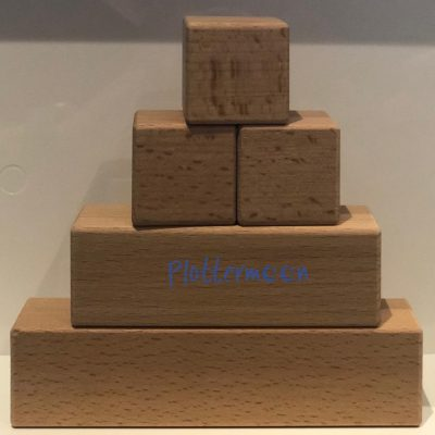 Houten blokken set