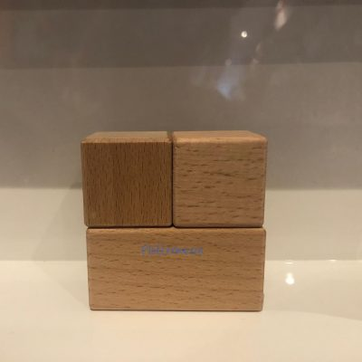 Houten blokken set mini