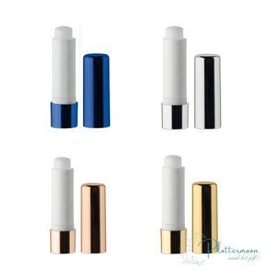 Blanco lippenbalsem draaistick metallic