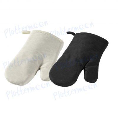 Deze blanco ovenhandschoen zijn voorzien van een ophang lus en geschikt voor volwassenen. De blanco ovenhandschoen hebben een afmeting van 10x6 cm
