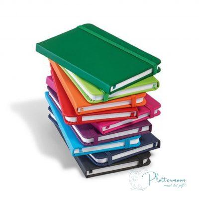 Blanco notitieboekje met imitatie lederen kaft