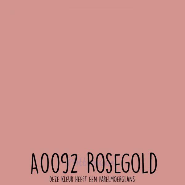 Siser effen flex A0092 Rosegold