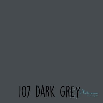 Ritrama vinyl glans 107 Dark grey