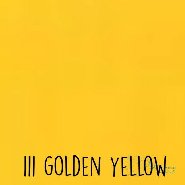 Ritrama vinyl glans 111 Golden yellow