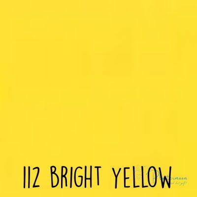 Ritrama vinyl glans 112 Bright yellow