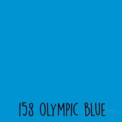 Ritrama vinyl glans 158 Olympic blue