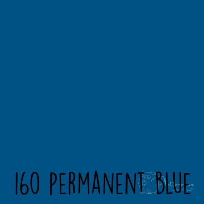 Ritrama vinyl glans 160 Permanent blue