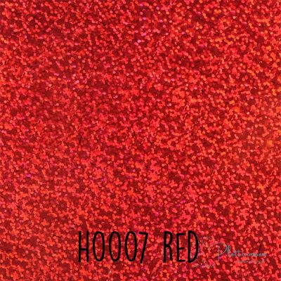 Siser holografische flex H0007 Red