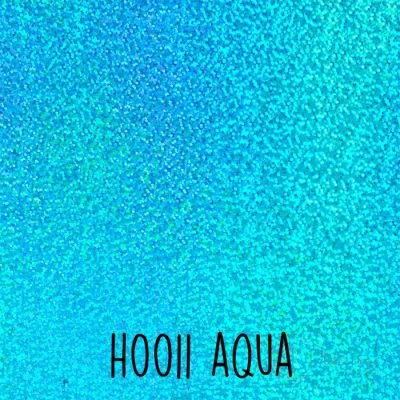 Siser holografische flex H0011 Aqua