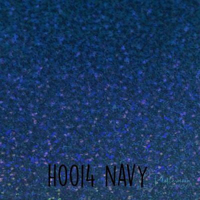 Siser holografische flex H0014 Navy blue