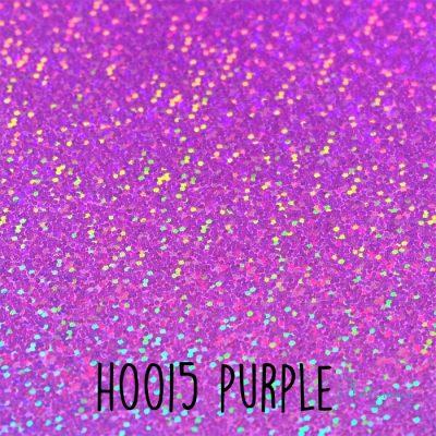 Siser holografische flex H0015 Purple