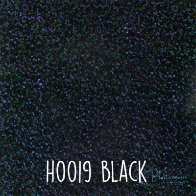 Siser holografische flex H0019 Black
