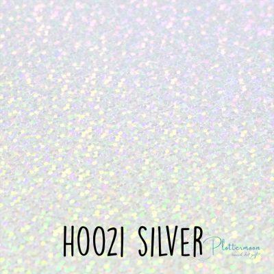 Siser holografische flex H0021 Silver