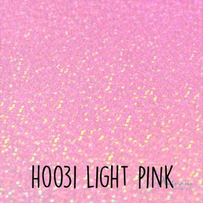 Siser holografische flex H0031 Light pink