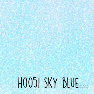 Siser holografische flex H0051 Sky blue