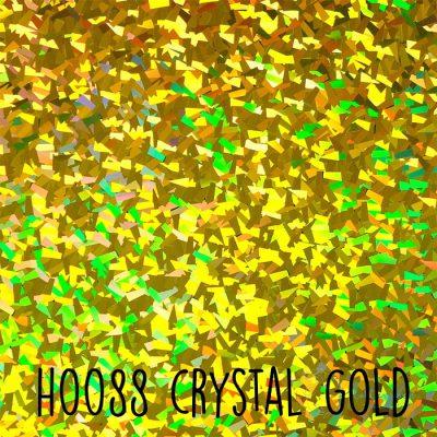 Siser holografische flex H0088 Crystal gold