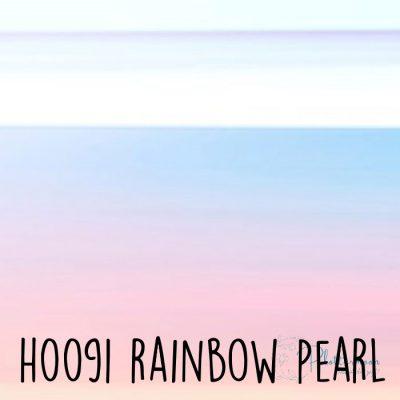 Siser holografische flex H0091 Rainbow pearl