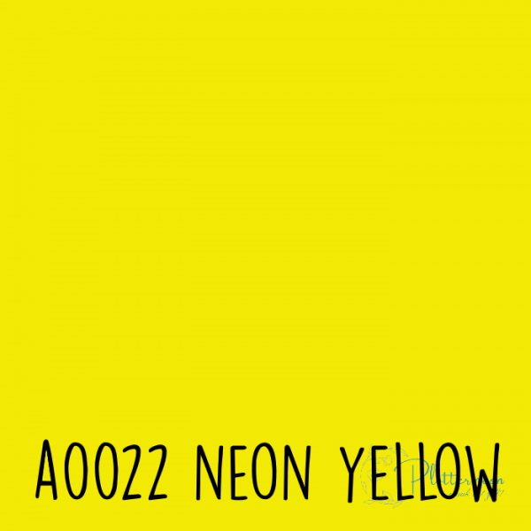 Siser neon flex A0022 Neon yellow