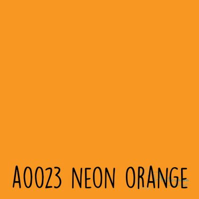Siser neon flex A0023 Neon orange