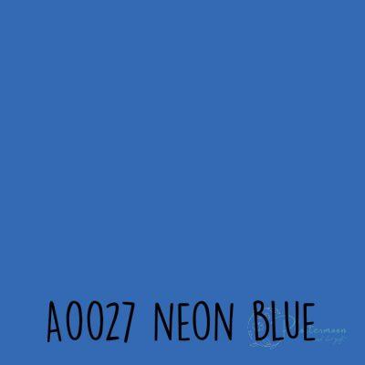 Siser neon flex A0027 Neon blue
