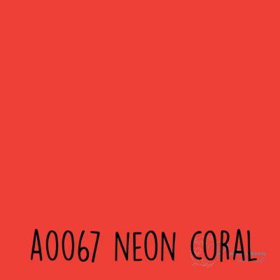 Siser neon flex A0067 Neon coral