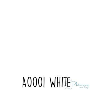 Siser effen flex A0001 White