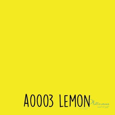 Siser effen flex A0003 Lemon