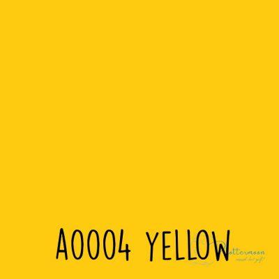 Siser effen flex A0004 Yellow