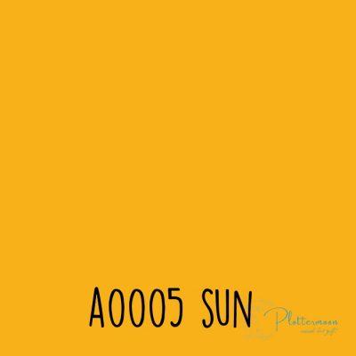 Siser effen flex A0005 Sun