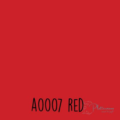 Siser effen flex A0007 Red