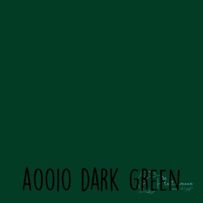 Siser effen flex A0010 Dark green
