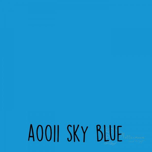 Siser effen flex A0011 Sky blue