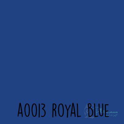 Siser effen flex A0013 Royal blue