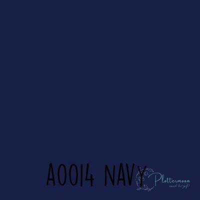 Siser effen flex A0014 Navy
